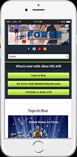 Altus FSS Website Responsive Website
