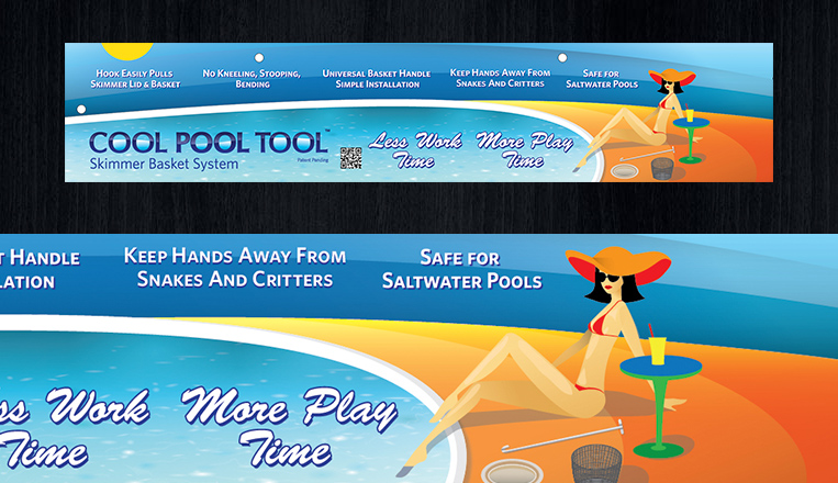 Cool Pool Tools Packaging