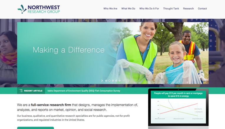 Northwest Research Group Website