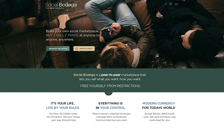 Social Bodega Website