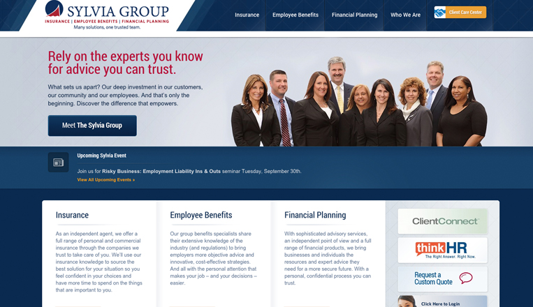 Sylvia Group Website