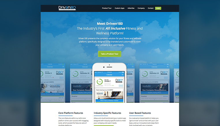 Driven 180 Website