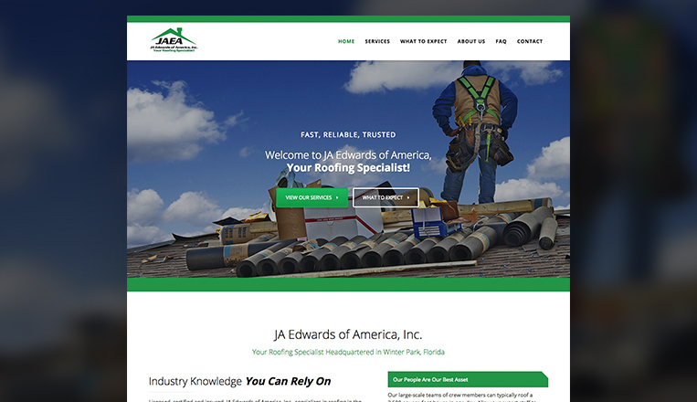 JA Edwards of America Website