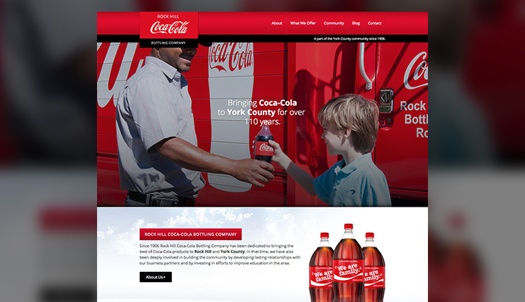 Rock Hill Coca-Cola Bottling Company Website